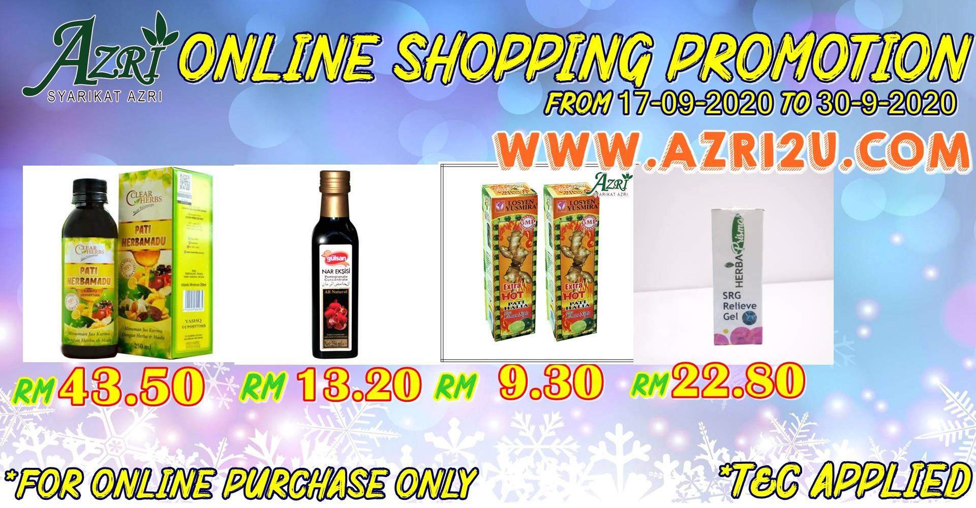 AZRI ONLINE SHOPPING