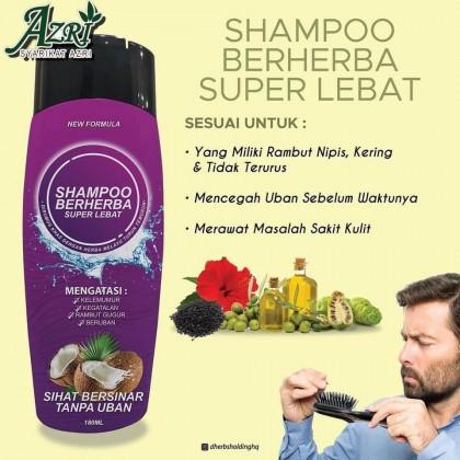 NEW Dherbs Shampoo Lebat
