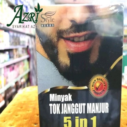 Style herbs Minyak Tok Janggut Manjur 5 in 1