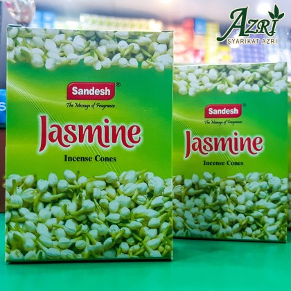 SANDESH INCENSE CONE JASMINE