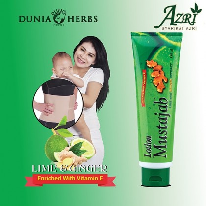 LOTION MUSTAJAB LIME AND GINGER