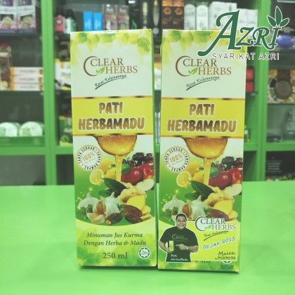 CLEAR HERBS PATI BERMADU  250 ML