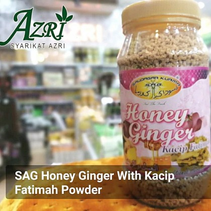 SAG HONEY GINGER WITH KACIP FATIMAH